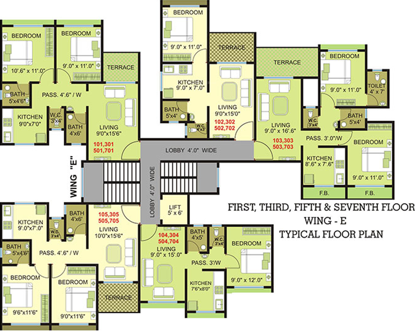 720 sq ft 1 bhk 1t apartment for sale in panvelkar group for 720 sq ft apartment floor plan