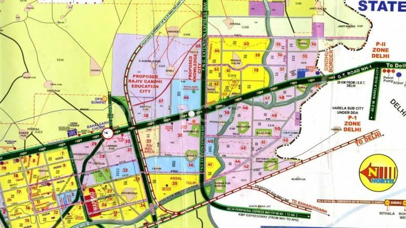 Images for Location Plan of Indiabulls Sonepat City