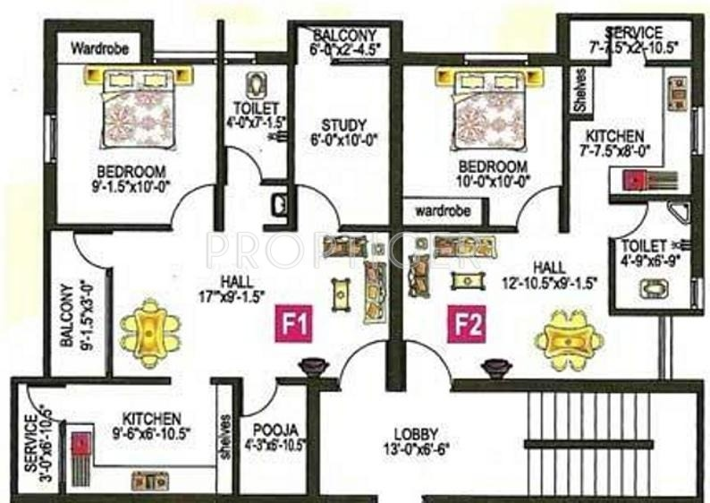 843 Sq Ft 2 Bhk 2t Apartment For Sale In Sap Builders
