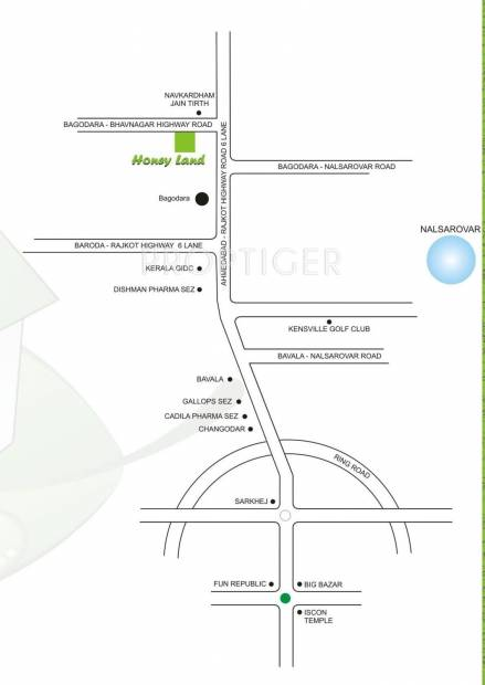 Images for Location Plan of Honey Honey Land