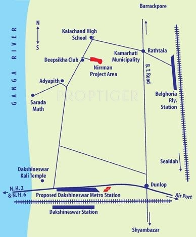 Images for Location Plan of Nirrman Udichi Enclave