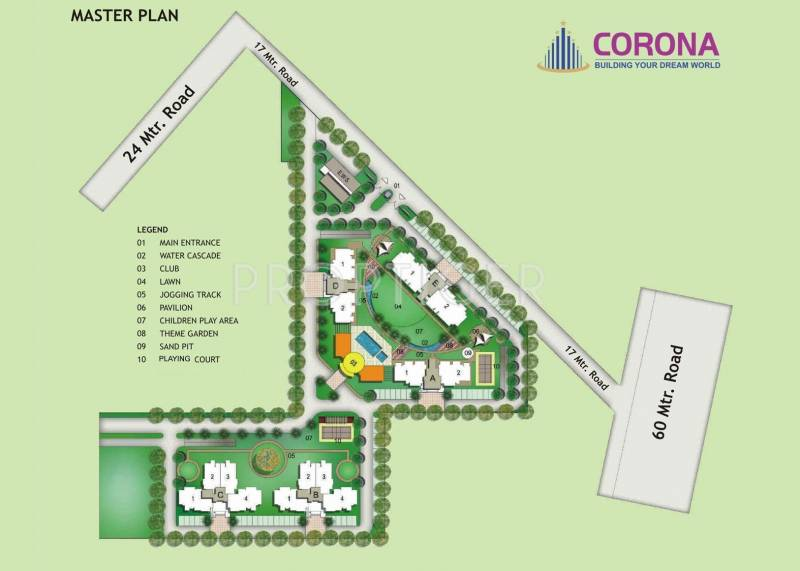 Images for Master Plan of Corona Gracieux
