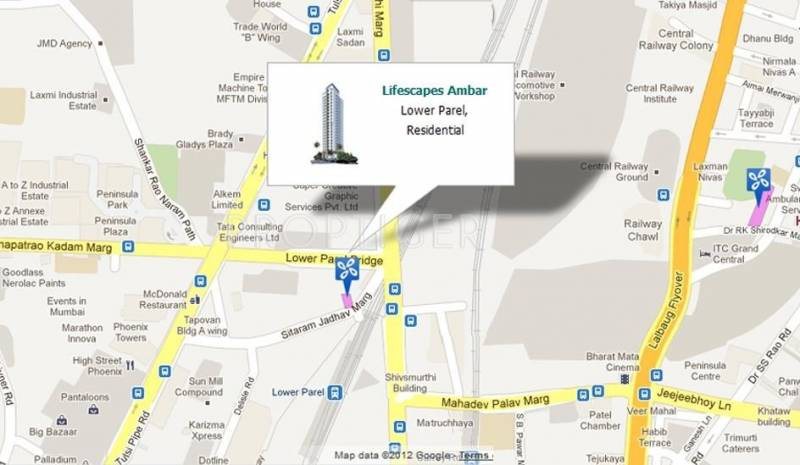 Images for Location Plan of Rohan Lifescapes Ambar