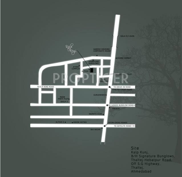 Images for Location Plan of Sanelite Kalp Kunj