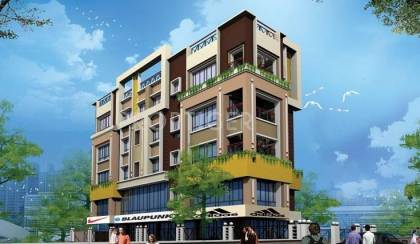 Images for Elevation of Ganguly Casa Blanca