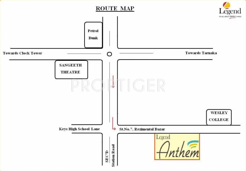 Images for Location Plan of Legend Anthem