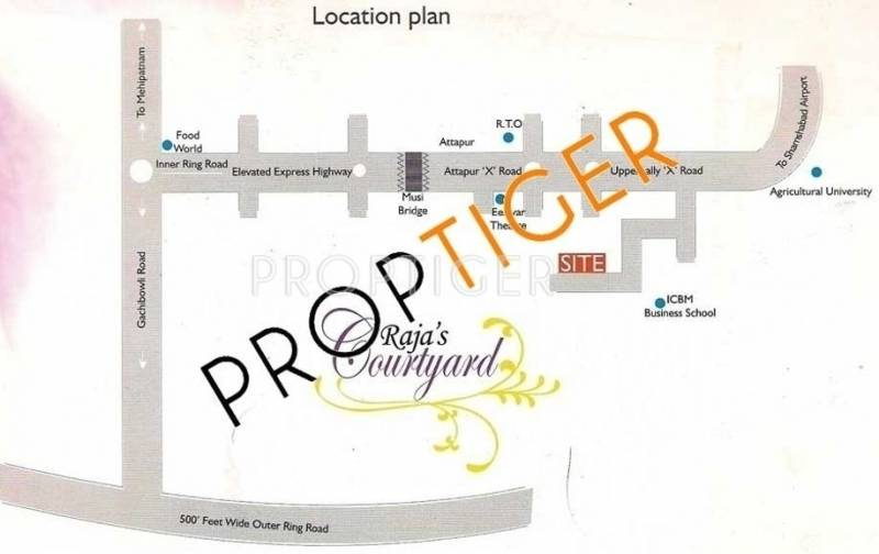 Images for Location Plan of Raja Rajas Courtyard