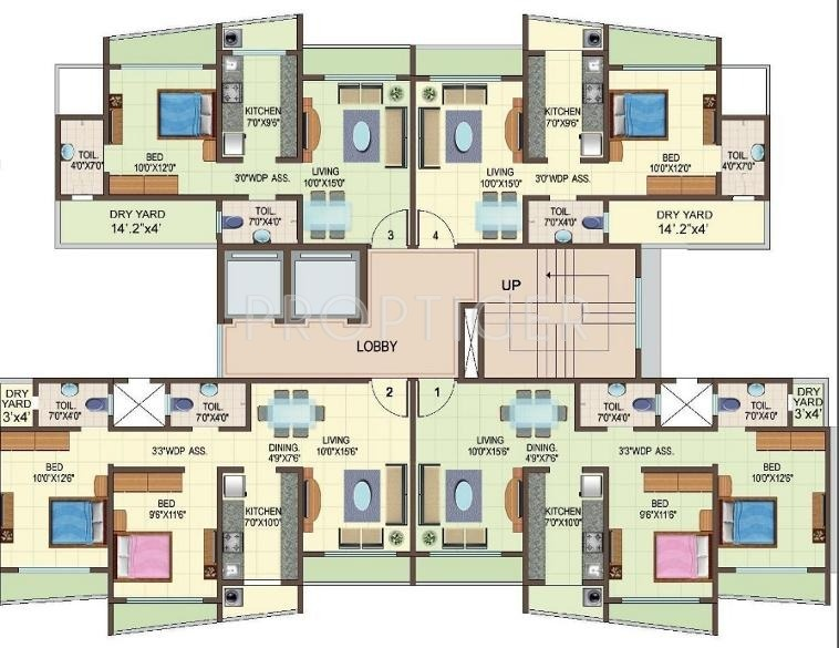 construction plans online 1 bhk 1t apartment for in jaydeep patidar 11094