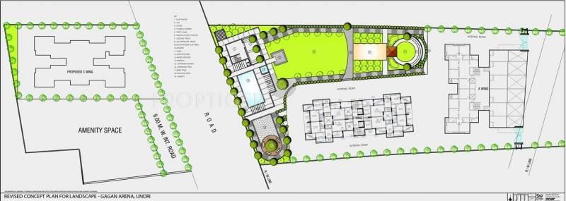arena Images for Master Plan of Gagan Arena
