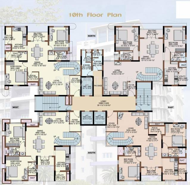 Images for Cluster Plan of Paramount Grand Residency
