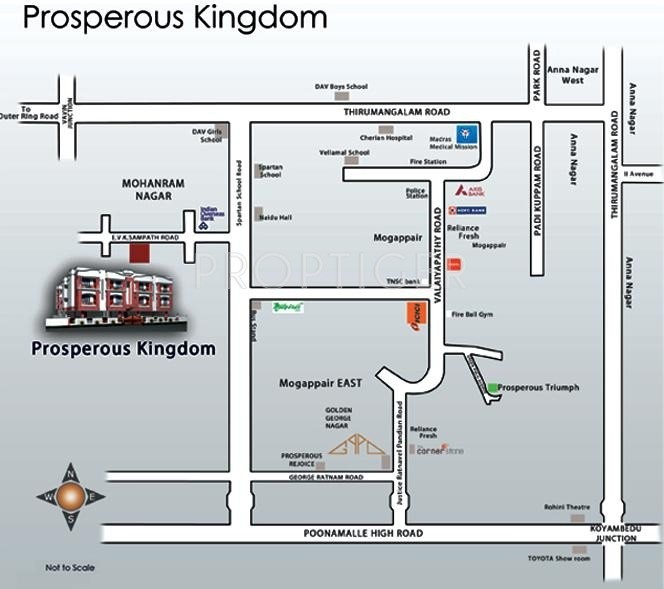 kingdom Location Plan