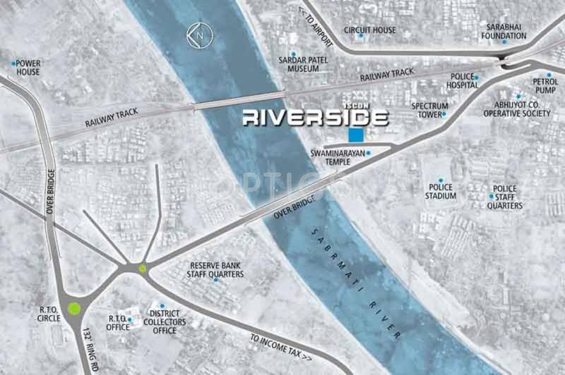JP ISCON Group Iscon Riverside Location Plan