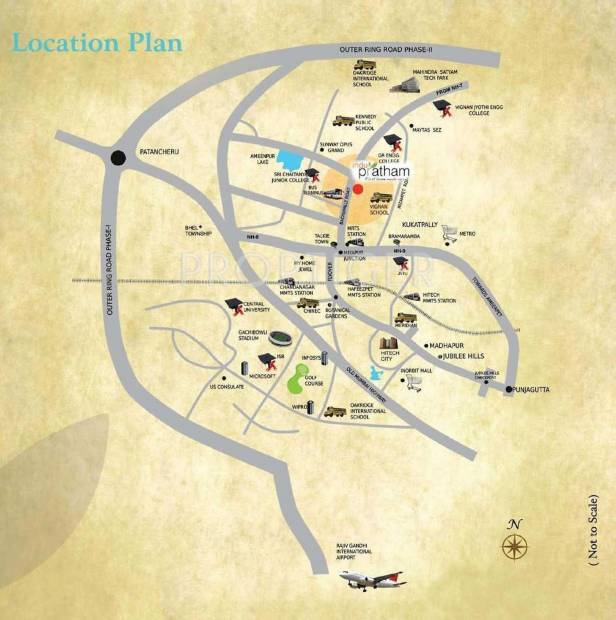 Images for Location Plan of Indus Indu Pratham