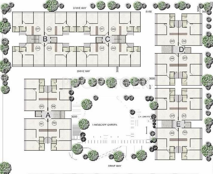 floor plan layout elegance earth aroma in santej ahmedabad price 11705
