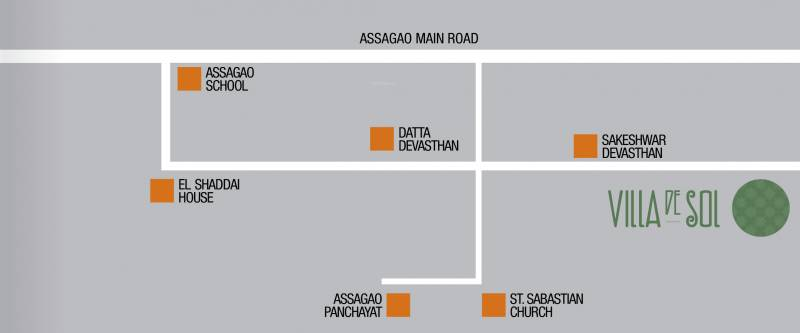 Images for Location Plan of R Square Villa De Sol
