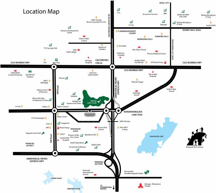 acropolis Images for Location Plan of Sumadhura Acropolis
