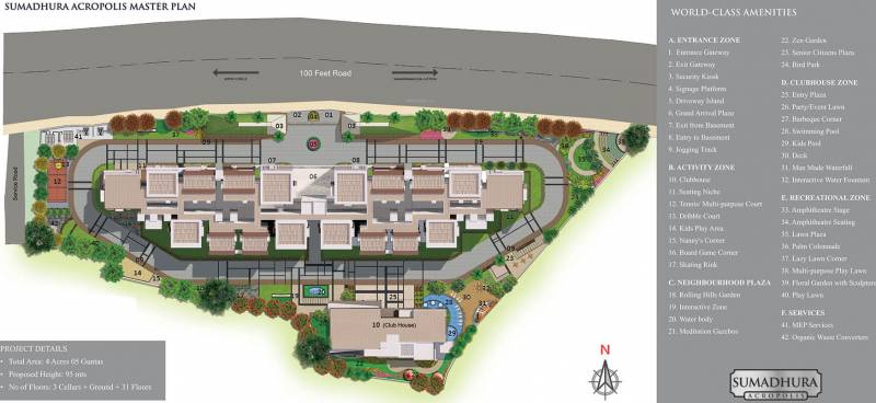 Images for Master Plan of Sumadhura Acropolis