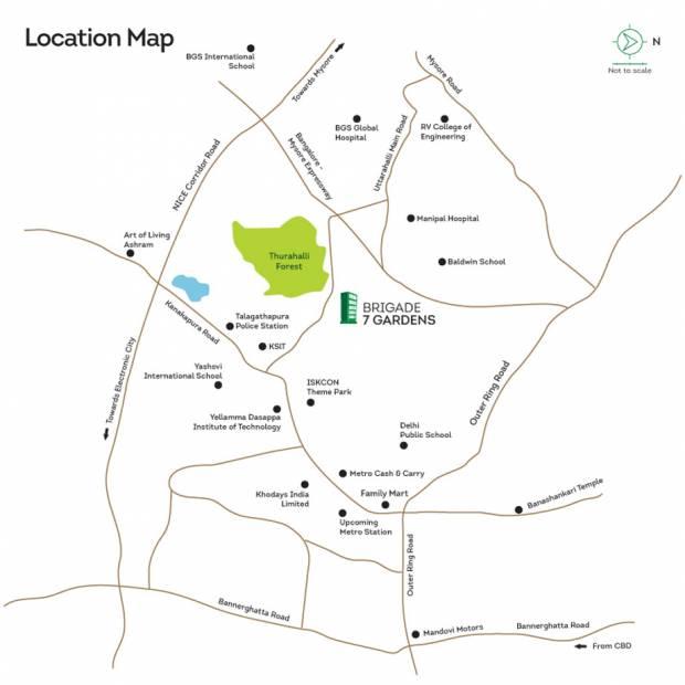 7-gardens Images for Location Plan of Brigade 7 Gardens