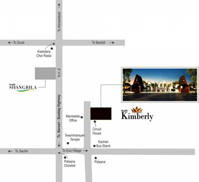 kimberly Images for Location Plan of Avadh Kimberly