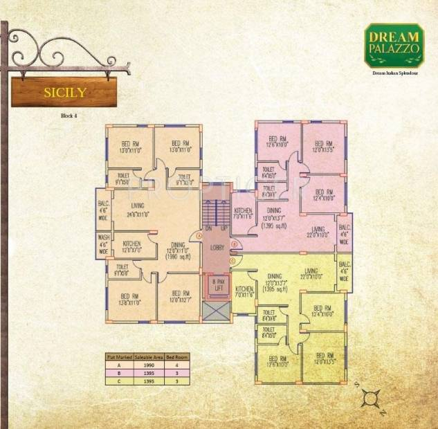 dream-palazzo Images for Cluster Plan of Jain Dream Palazzo