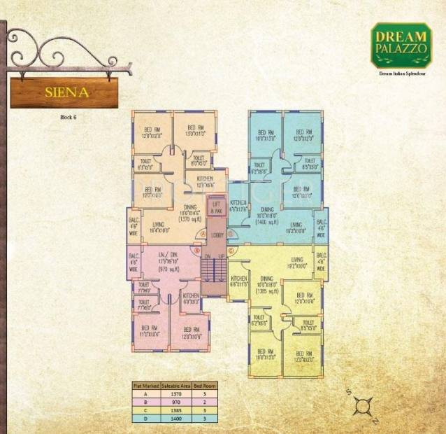 Images for Cluster Plan of Jain Dream Palazzo