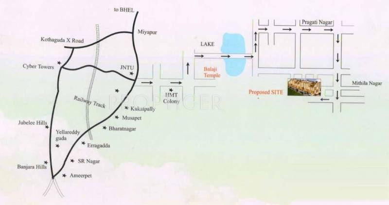 Images for Location Plan of Anil Sri Vishnus Grande Vista