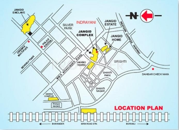 Images for Location Plan of Jangid Indrayani