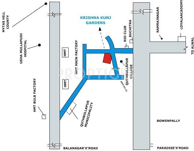 Images for Location Plan of Victory Krishna Kunj Gardens