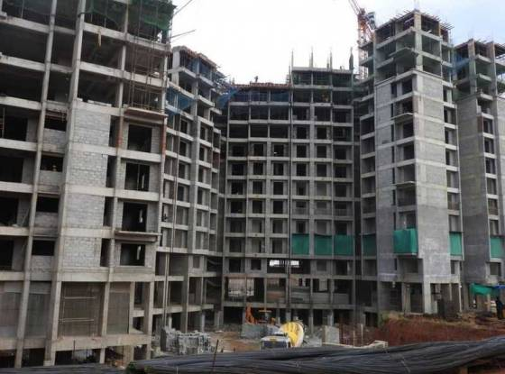 orchid-whitefield Block A Construction Status Sept-21