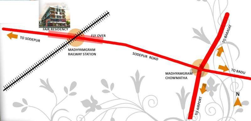Images for Location Plan of Subarban Fair Residency