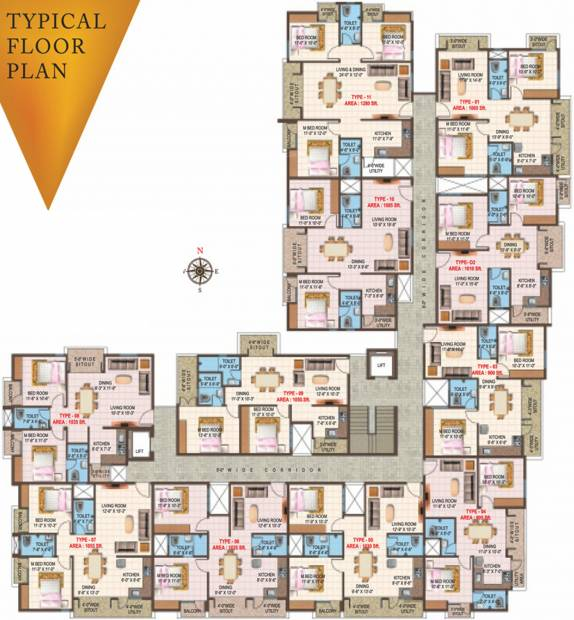 Images for Cluster Plan of Prominent Vistara