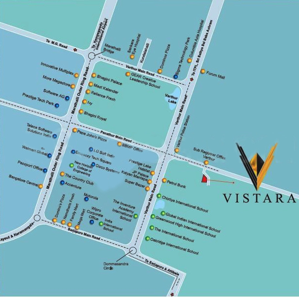 Images for Location Plan of Prominent Vistara