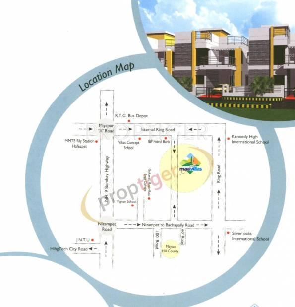 Images for Location Plan of Sri Bhavana Maa Villas