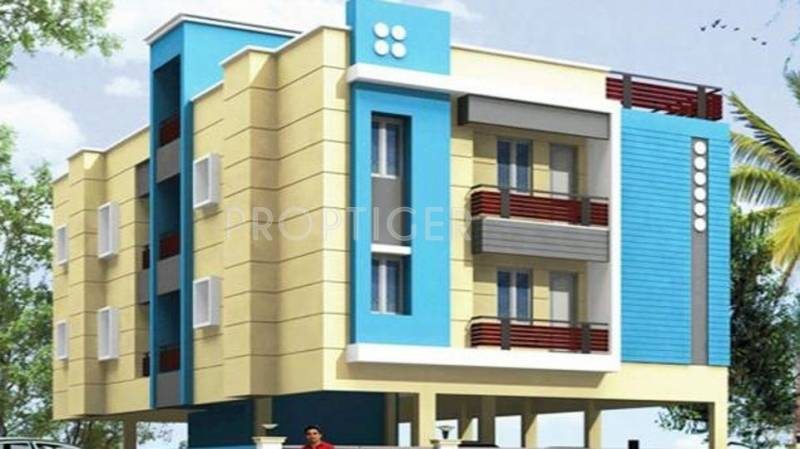 Images for Elevation of Yazhini Apartment