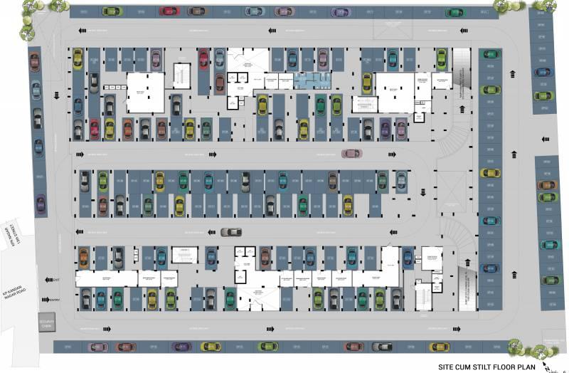 magnum Images for Cluster Plan of Ramaniyam Magnum