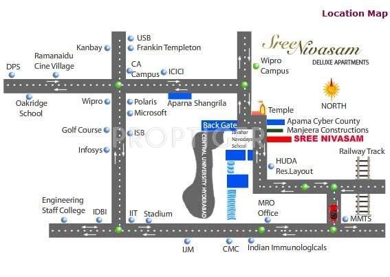 Images for Location Plan of Vishala Sree Nivasam