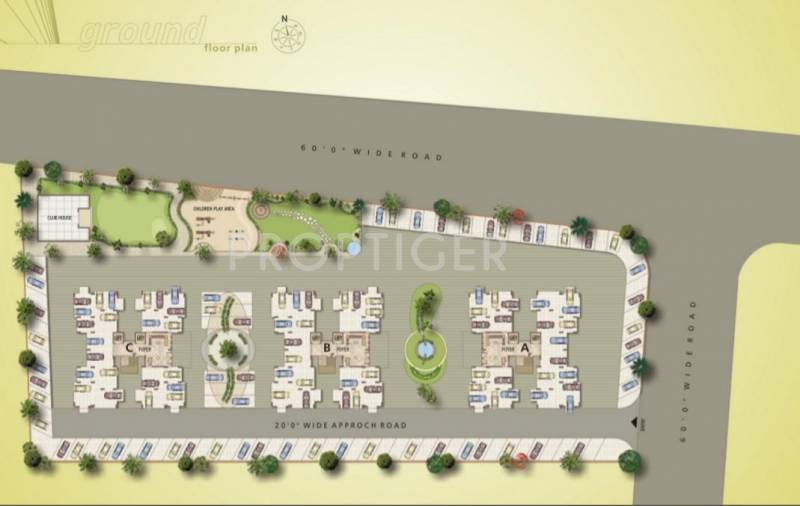 Images for Cluster Plan of JT Shubham Heights