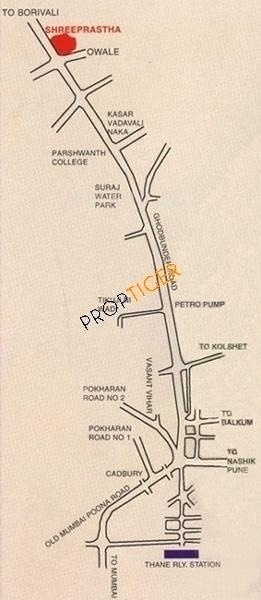 Images for Location Plan of Shree Constructions Mumbai Prastha