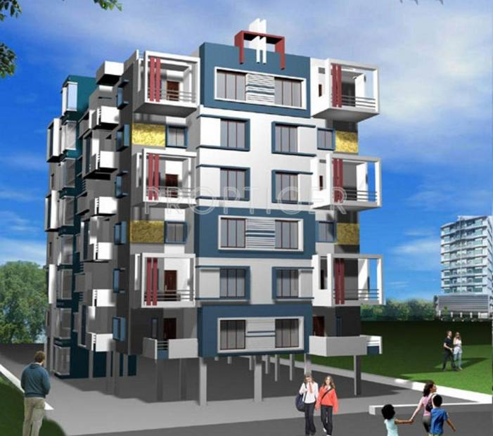 Images for Elevation of Concrete Rudra Apartment