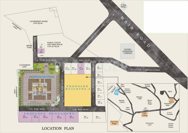 Images for Location Plan of SDPL Omkar Gaurav Enclave