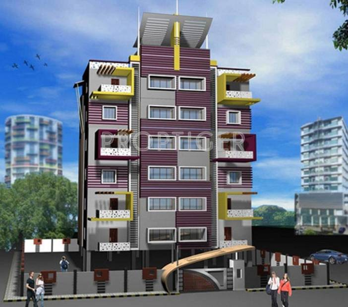 Images for Elevation of Concrete Damodhar Apartment