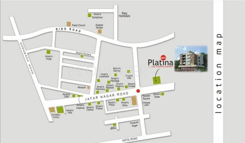 Images for Location Plan of Green Amans Platina