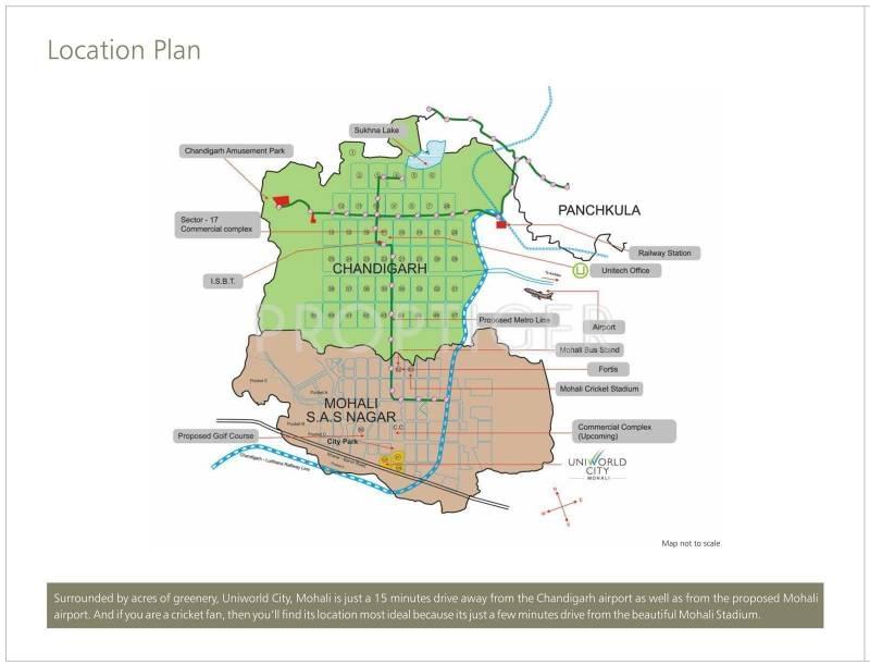 Images for Location Plan of Unitech Singleton Floors