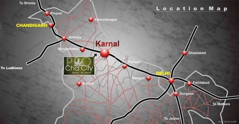 city Images for Location Plan of CHD City