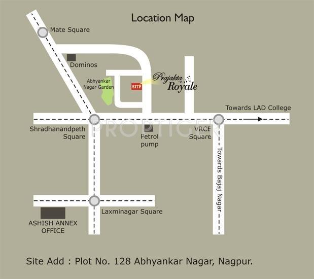 Images for Location Plan of Ashish Prajakta Royale