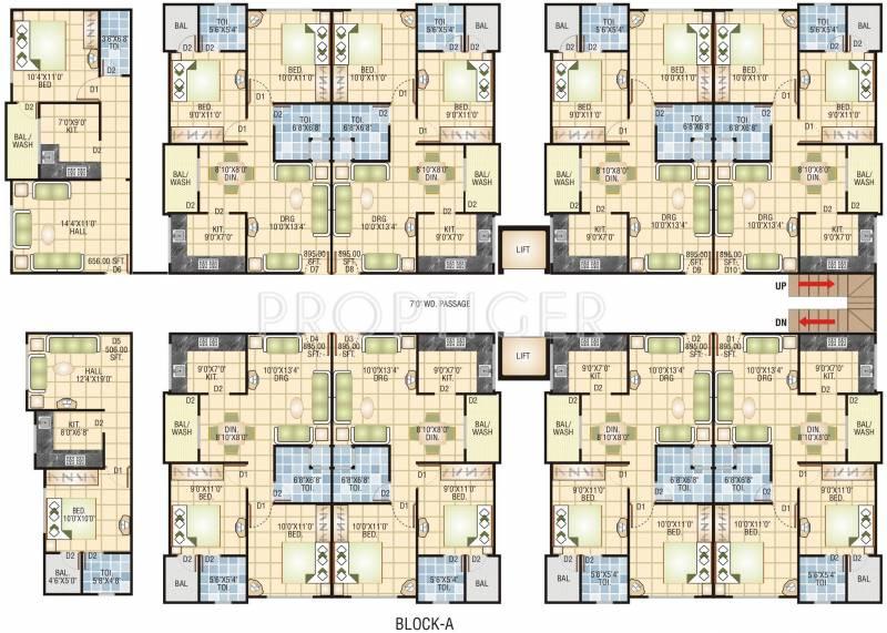 Images for Cluster Plan of Sarthak Sarthak Vihar