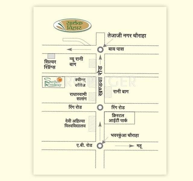 Images for Location Plan of Sarthak Sarthak Vihar