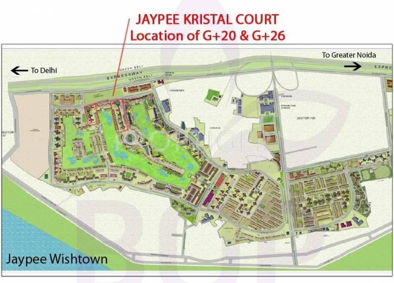 Images for Master Plan of Jaypee Kristal Court