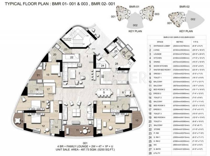 Images for Cluster Plan of Jaypee Boomerang Residencess