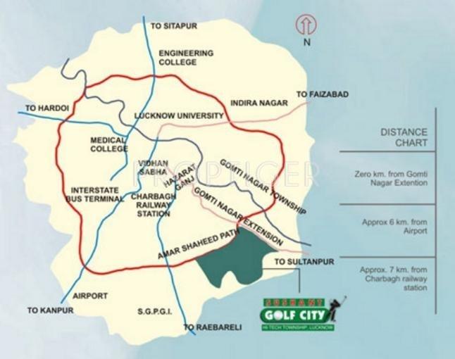 Images for Location Plan of Ansal Santushti Enclave